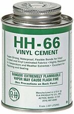 HH-66 PVC Vinyl Cement Glue with Brush 8 Ounce Swimming Pool Liner Adhesive