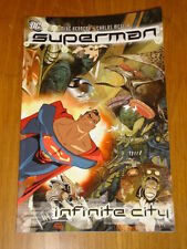 SUPERMAN INFINITE CITY DC COMICS MIKE KENNEDY CARLOS MEGLIA 9781401200664
