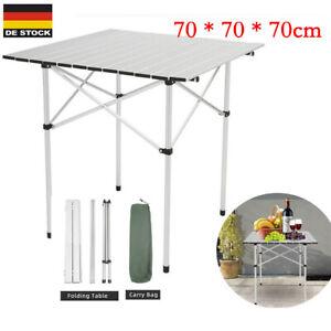 Campingtisch Rolltisch Klapptisch Falttisch Gartentisch klappbar Camping 70cm