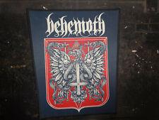 New Behemoth Patch Back Patch Dimmu Borgir Black Metal Polish Legend Hate Mgla