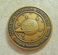 CHALLENGE COIN RARE CIA CENTRAL INTELLIGENCE AGENCY DIRECTORATE SCIENCE & TECH.