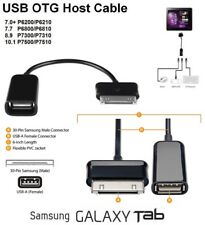 OTG Cable Adaptador Host USB para Samsung Galaxy Tab GT-P1000 16 GB Note Tab 2 10.1