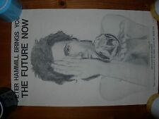 """Peter Hammill-poster from fanclub """"pawn Hearts"""" made in 1978-the Future now-Nm."""