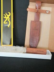 NEW BROWNING HUNTING BOWIE KNIFE WITH SHEATH HOLDER
