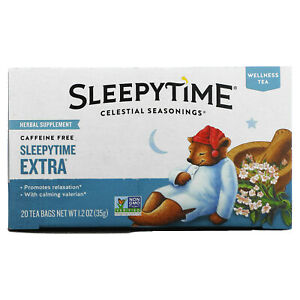 Wellness Tea, Sleepytime Extra, Caffeine Free, 20 Tea Bags, 1.2 oz (35 g)