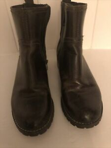 Timberland Brown Leather Chelsea Style Ankle Boots Size 4
