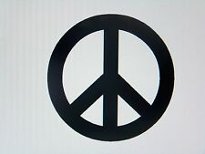 Peace Sign Love Hippie Vinyl Decal Sticker Laptop Windows, Walls, Car, Truck