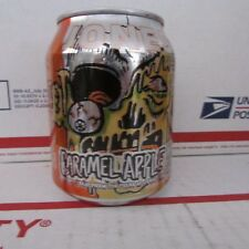 Jones Caramel Apple Halloween empty aluminum soda pop can 8oz Zombie