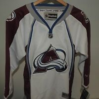 Lot of 10 NHL Premier Colorado Avalanche Hockey Jersey New Youth S/M & L/XL $80