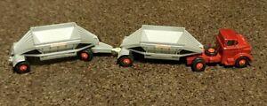 MatchBox K-4 King Size Tractor Trailer Fruehauf Hopper Truck Lesney