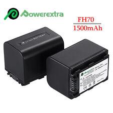 NP-FH70 Battery For Sony HandyCam HDR-CX100 SR11 SR12 SR1 DCR-SR47 SR45 SR42