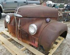 1930's 1940's Studebaker M Series Pickup Truck Front Clip Fenders Grill Hood