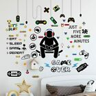 Game Wall Decal Stickers Paper Room Decoration Art Design Pvc Home Bedroom