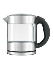Breville the Compact Kettle Clear Glass/Stainless Steel BKE395BSS