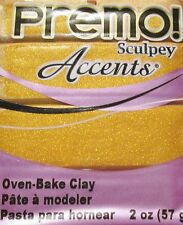 Sculpey PREMO ACCENTS - Polymer Clay - 57g - GOLD