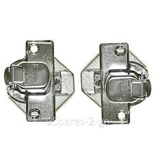 Door Hinges for BEKO WMI77147 WMI77167 WMI81242 WMI81341 Washing Machine Pair