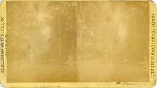 STEREO, D.R. Clark, Vue d'une rue, Ceylon, vintage albumen print   Vintage