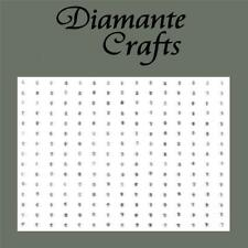 225 x 2mm Clear Diamante Self Adhesive Rhinestone Body Nail Vajazzle Gems