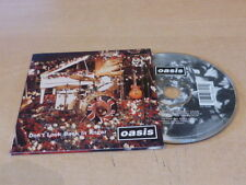 OASIS - DON'T LOOK BACK IN ANGER USA CD - 34K 78356 !!!!!!!