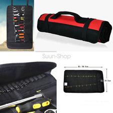 Repairing Tool Portable Pockets Roll Holder Bag Storage Pocket Socket Case Pouch