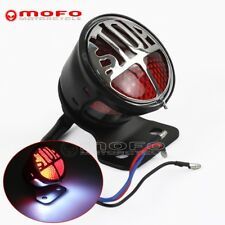 Motorcycle LED Stop Tail Light Miller Vincent License Lamp For Harley Cafe Racer