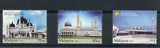 Malaysia 2015 MNH Mosques 3v Set Zahir Mosque Kota Kinabalu City Mosque