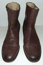 John Frye Mens Dress Boots Size 13 Harvey Side Zip