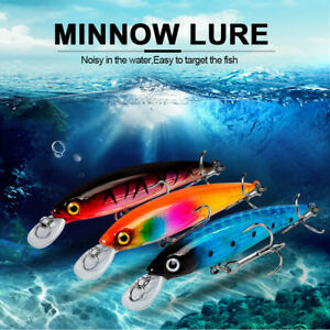 82mm MINNOW Type Sea Fishing Lure Hard Lure Floating Surface Bionic Fishing Bait