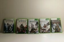Assassin's Creed Games Xbox 360! Cleaned and Tested!