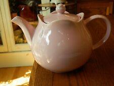 Sadler England Solid Pale Pink Teapot