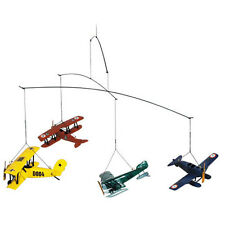 Airplane Nursery Hanging Mobile New in Box Museum Mobiles Authentic Models 1920