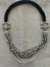 Chanel Special Limited Edition Head Piece Headband     Hair Jewelry Pearl