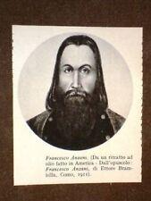 Francesco Anzani Amico di Giuseppe Garibaldi