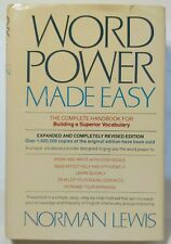 WORD POWER MADE EASY: COMPLETE HANDBOOK FOR BUILDING A SUPERIOR VOCABULARY - VG+