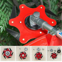 Trimmer Head 6 Steel Blades Razors Lawn Grass Weed Eater Brush Cutter Tool