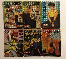 Yu Yu Hakusho Carddass Prism Set PART 4