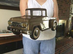 Vintage Tonka Pressed Steel Pickup Truck 1961 (Nice!)