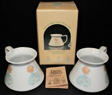 """Precious Moments 1986 """"I'm Following Jesus� Mugs Members Only Pm-863 in Box"""