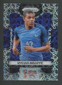 2018 Panini Lazer Prizm World Cup Soccer #80 Kylian Mbappe RC Rookie