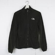 Vintage THE NORTH FACE Black Zip Up Fleece Jacket Size Womens Small /R30026