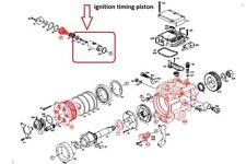 BOSCH POMPE À CARBURANT VP4 distribution allumage PISTON VW Passat 2.5Tdi AFB
