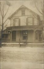 Home - Williamsport PA Written on Back c1910 Real Photo Postcard