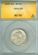 1929 STANDING LIBERTY QUARTER ANACS AU 50 (1722214)