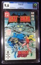 Batman #349 (1982) CGC 9.6...Man-Bat cover & story