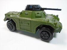 Vintage Matchbox Weasel Green Rolamatics Military Diecast Dark Army Green Htf