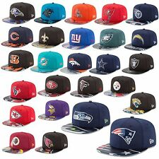 New Era Cap 9FIFTY Snapback NFL On Stage 2017 Draft Seahawks Patriots Raiders