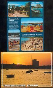 Lot mit 5 Postkarten Timmerndorfer Strand (8) neuwertig