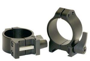 Warne Maxima Quick Detach Scope Rings 30mm Medium 214LM
