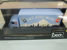 IXO QUALITY MODELS .  RENAULT 1955 FAINEANT TRUCK WITH MONT BLANC DESERTS TAMPO