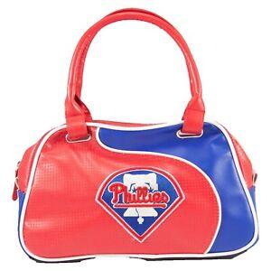 Philadelphia Phillies Women's Perf-ect Bowler Bag MLB Authentic Little Earth NIB